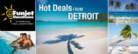 Funjet Vacations Last Minute Specials from Detroit